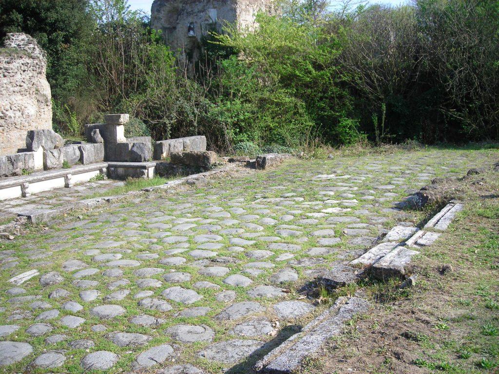 la via flaminia en roma