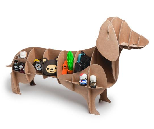 Dachshund Cardboard Dog Milimetrado