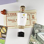 Real Madrid Foosball Figure
