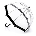 """Birdcage"" Clear Umbrella Children's Umbrella Black"