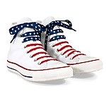 US Flag Crazy Laces