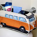 VW Washbag Orange