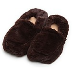 Hot and Cold Cozy Slippers Brown