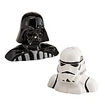 Salt and Pepper Shakers: Darth Vader and Stormtrooper Set