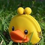 """3D Pochi Friends"" Duck Change Purse"