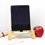 Old School iPad Stand and Stylus