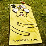 Adventure Time Towel Jake