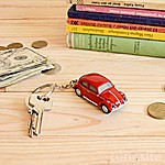 Volkswagen Beetle Keychain Flashlight