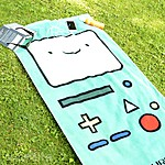 Adventure Time Towel BMO 140 x 70 cm