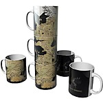 Game of Thrones Mugs Map Of Westeros