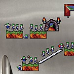 Lemmings Fridge Magnets