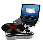"""iPTUSB"" ION Audio Portable Vinyl-Archiving Turntable"