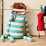 Huggable Sock Monkey Laundry Bag