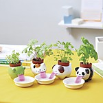 """Peropon"" Kawaii Self-Watering Pot"