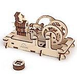 Model Pneumatic Engine by Ugears