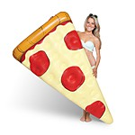 Gigantic Pizza Slice Pool Float