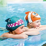 Swimming Cap with Fin