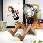 Wooden Lamp Bonhomme