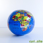 New Globe Gonflable 30 cm (Spanish)
