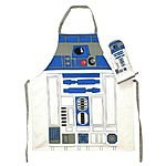 Cooking Apron with Oven Mitt R2-D2