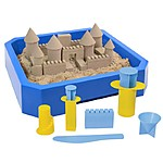 Sand Castle Kit by Kinetic Sand