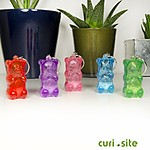 Gummy Bear Light-Up Keychain
