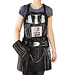 Cooking Apron with Oven Mitt Darth Vader