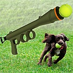 Bazooka Tennis Ball Shooter for Dogs