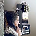 Retro Wall Telephone