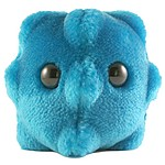 "Plush Microbe Toy ""Common Cold"""
