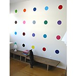 """Sweet 16"" Polka Dot Vinyl Wall Stickers"