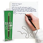 "Novelty Pen ""BankJob"""