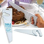 "Cuchillo de Cocina con forma de Sierra ""Table Saw"""