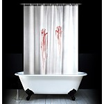 """Psycho"" Shower Curtain"