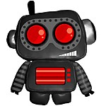 """SpyBot"" Robot Plush Toy"