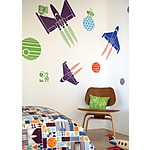 Space Vinyl Wall Stickers