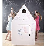 """Casa Cabana"" Kidsonroof Cardboard Playhouse"