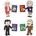 Literary and Music Master Action Figures
