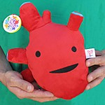 'I Heart Guts' Big Heart Plush