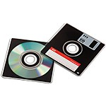 CDRetro Floppy Disk Shaped CDR