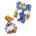 "Robots de Papel Smoke & Bill de ""Piperoid"""