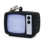 Retro TV Led Keychain