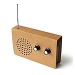 Cardboard FM Radio and Speaker