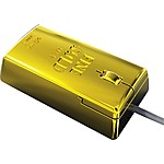 Gold Bullion Optical Mouse