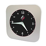 Smoke Detector Wall Clock
