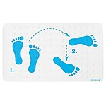 Non-Slip Dance Steps Bath Mat