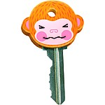 "Set of 6 ""MonKeys"" Key Covers"