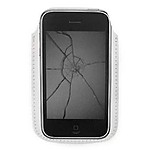 Cracked Screen iPhone Cover