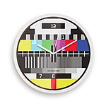 Test Pattern Wall Clock
