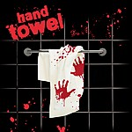 Blood Stained Hand Towel
